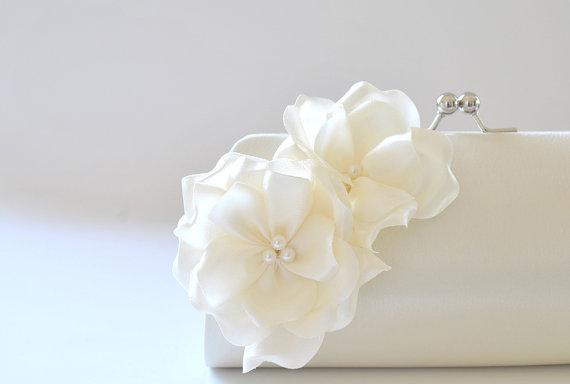 Wedding Day Bridal Clutches - Bridesmaid Clutches