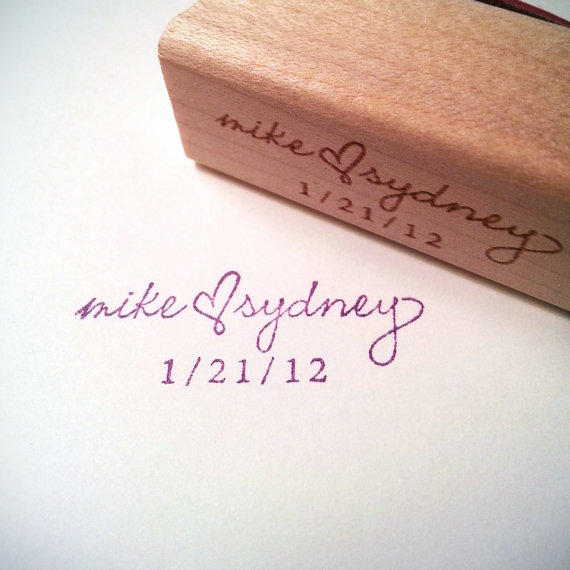 Custom Wedding Invitations Stamps