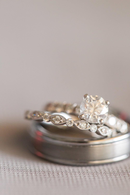 Ring Shot - A DeLand, Florida DIY Backyard Wedding