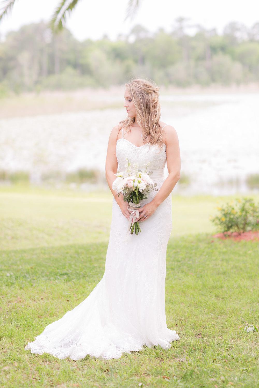 Wedding Dress - A DeLand, Florida DIY Backyard Wedding