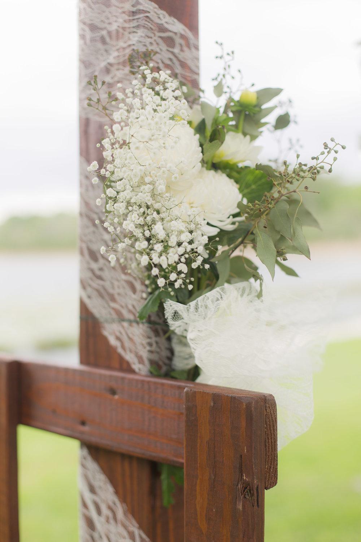 Simple Wedding Ceremony Decor - A DeLand, Florida DIY Backyard Wedding
