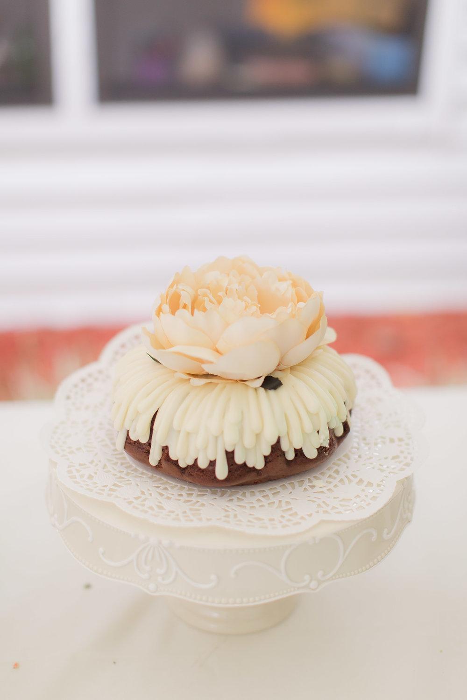 Bundt Cake Wedding Cake - - A DeLand, Florida DIY Backyard Wedding