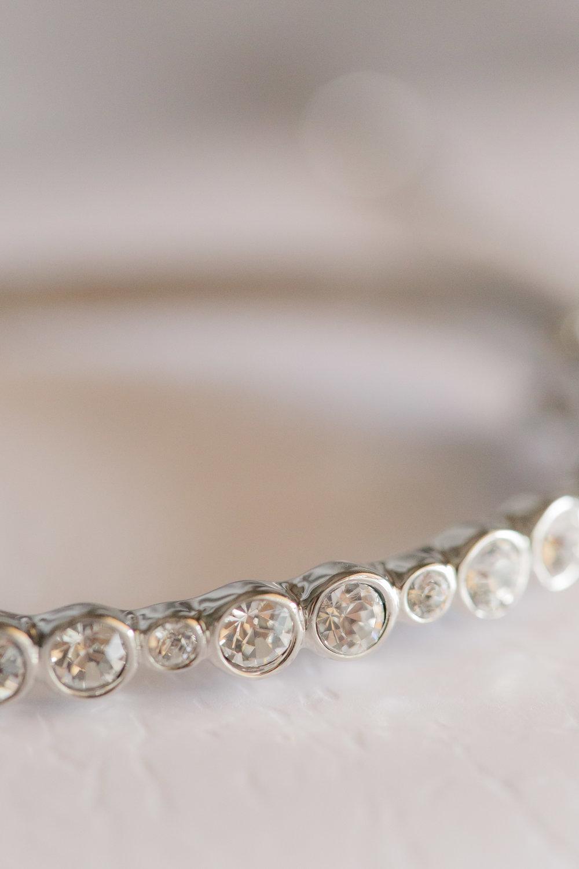 Bridal Bracelet - A DeLand, Florida DIY Backyard Wedding