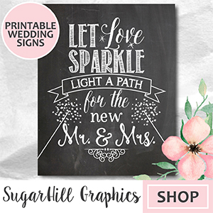 etsy cute wedding signs, printable etsy wedding invitations