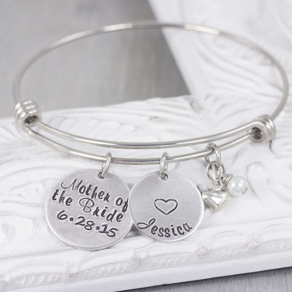 Bridesmaid Gift Idea Custom Jewelry