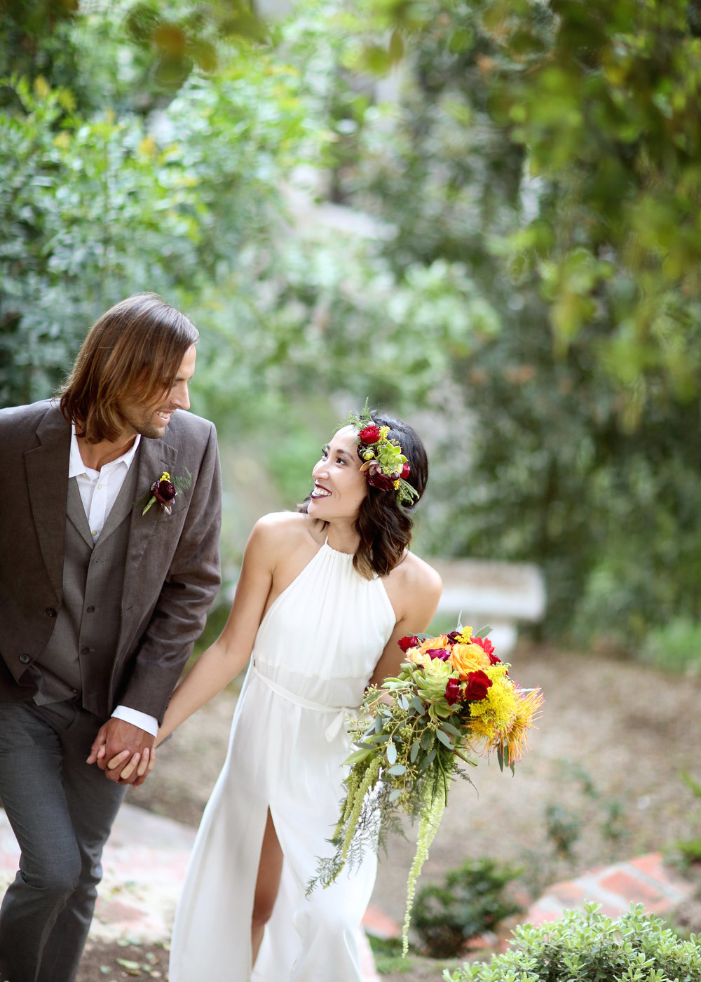 Boho Bride - A Modern Bohemian Outdoor Wedding Shoot - Bleudog Fotography