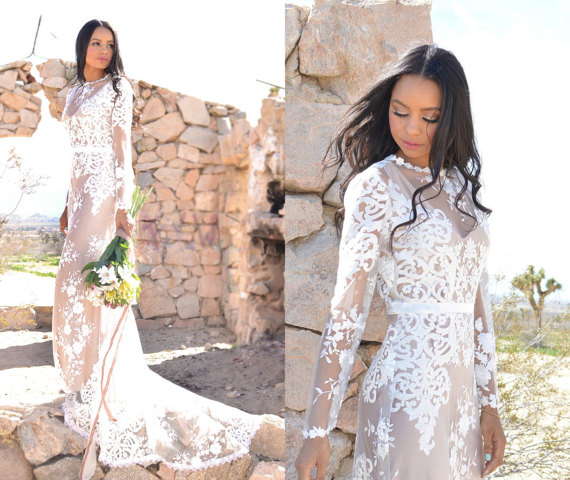 56 Boho Wedding Dresses Under $1000 — The Overwhelmed Bride ...