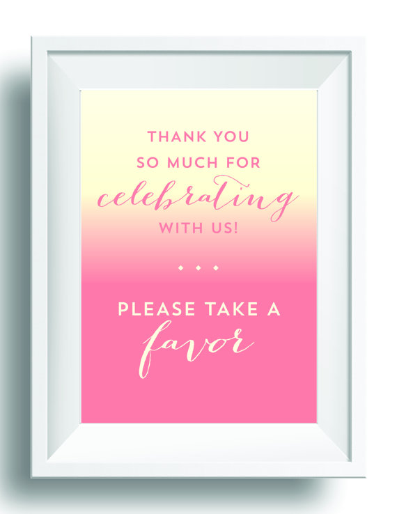 Unique Summer Wedding Signs 16 - wedding thank you sign