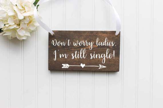 Unique Summer Wedding Signs 29 - funny wooden ring bearer sign