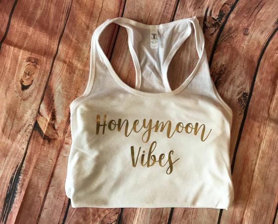 honeymoon vibes honeymoon tank top