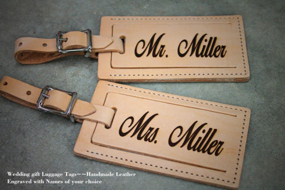 Honeymoon Essentials - Honeymoon Personalized Luggage Tags