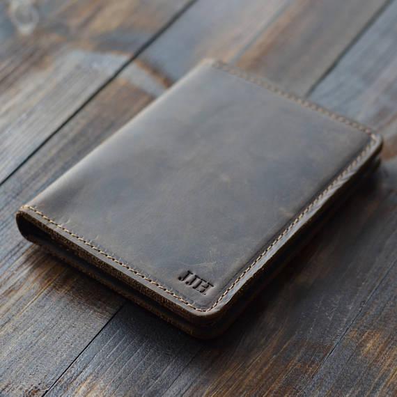 Honeymoon Essentials - Leather Passport Cover