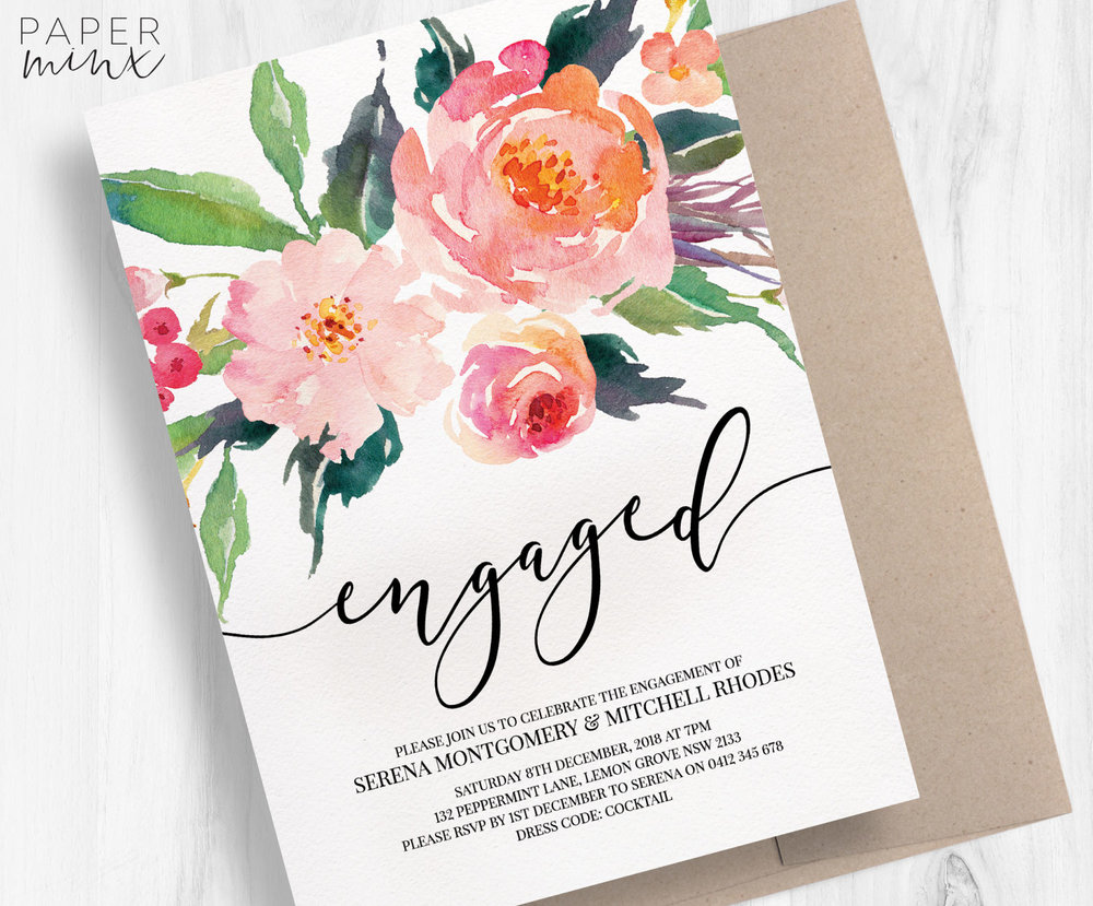 Engagement Party Decor Ideas The Overwhelmed Bride Wedding