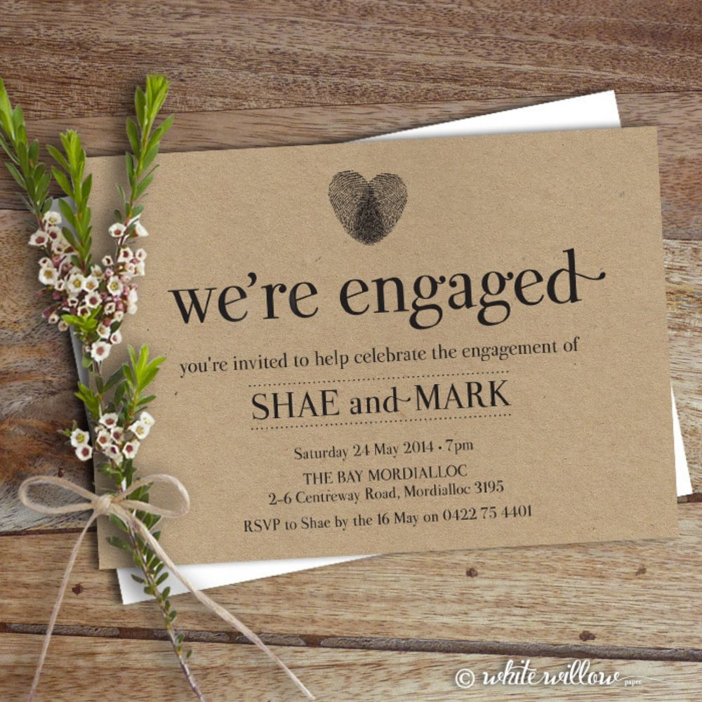 Engagement party decor ideas the overwhelmed bride for Online engagement party invitations