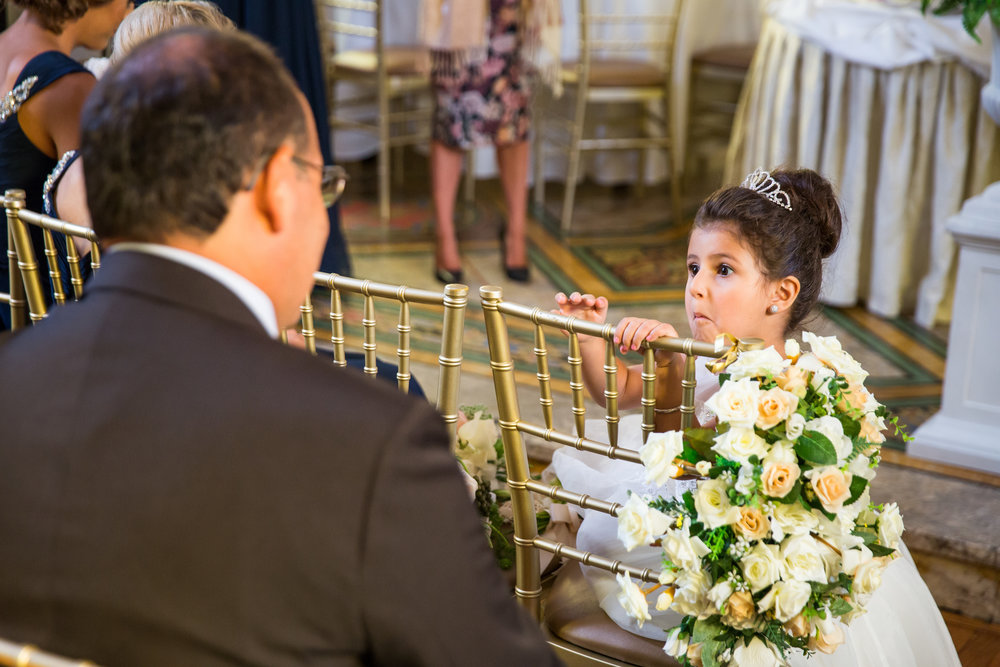 Flower Girl Crown -A Curzon Hall Wedding - T-One Photography