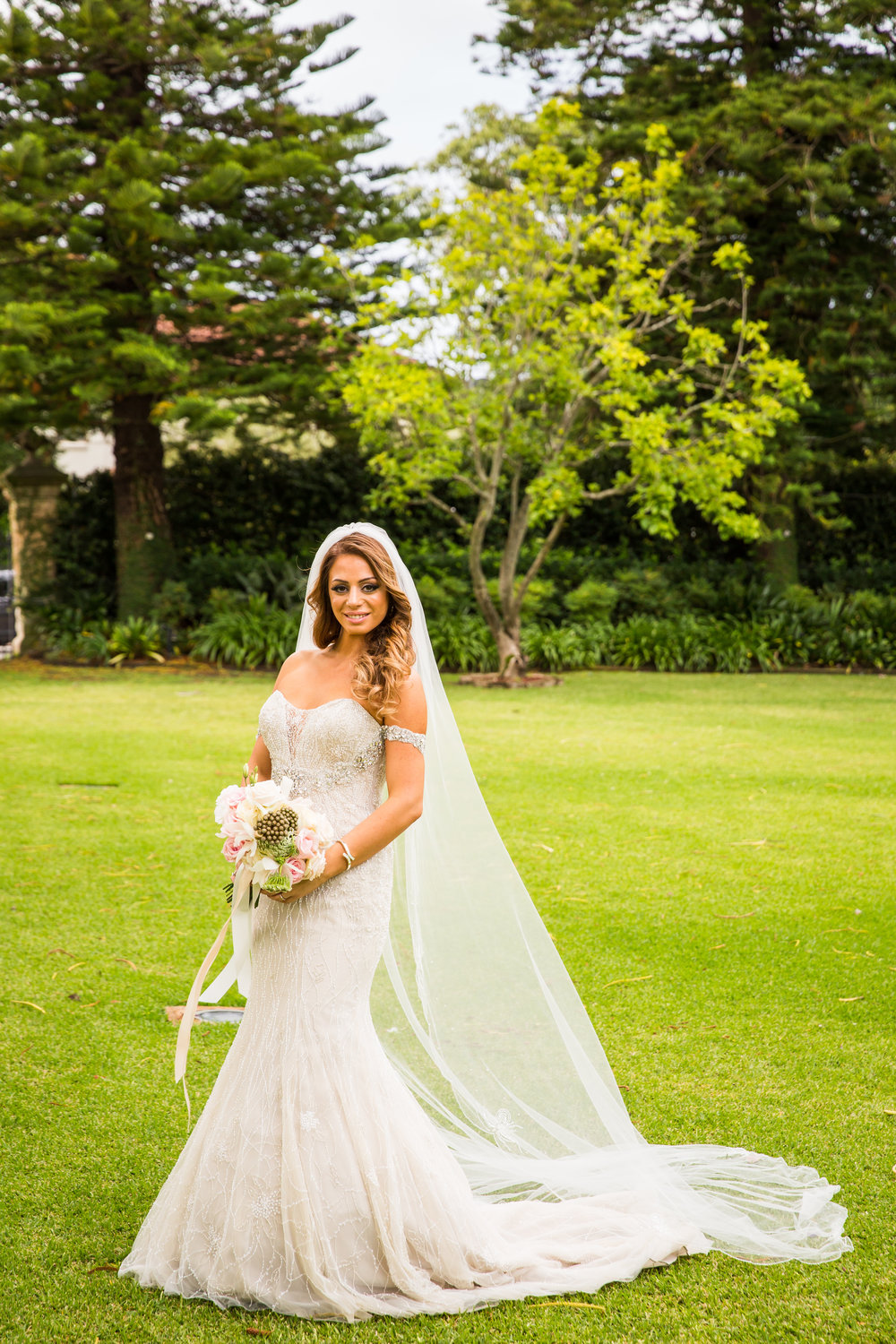 La Sposa Beaded Wedding Dress - A Curzon Hall Wedding - T-One Photography