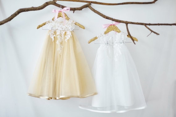 Tulle Poofy Flower Girl Dresses