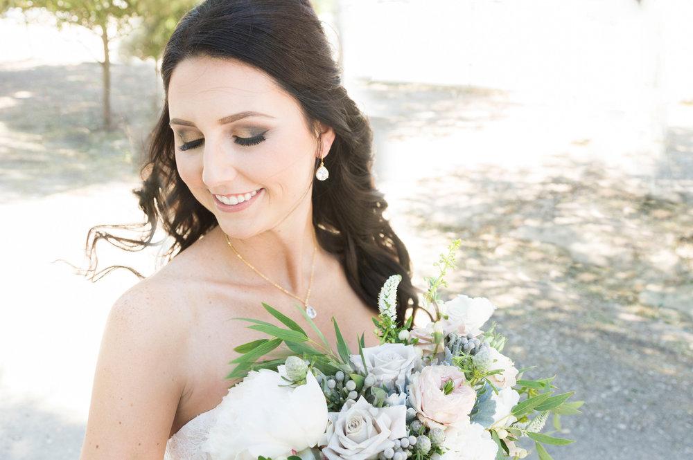Mermaid Lace Wedding Dress - A McCoy Equestrian Center Wedding - Peterson Design & Photography
