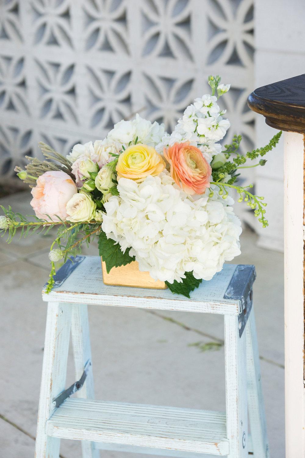 Vintage Wedding Decor - McCoy Equestrian Center Wedding - Peterson Design & Photography
