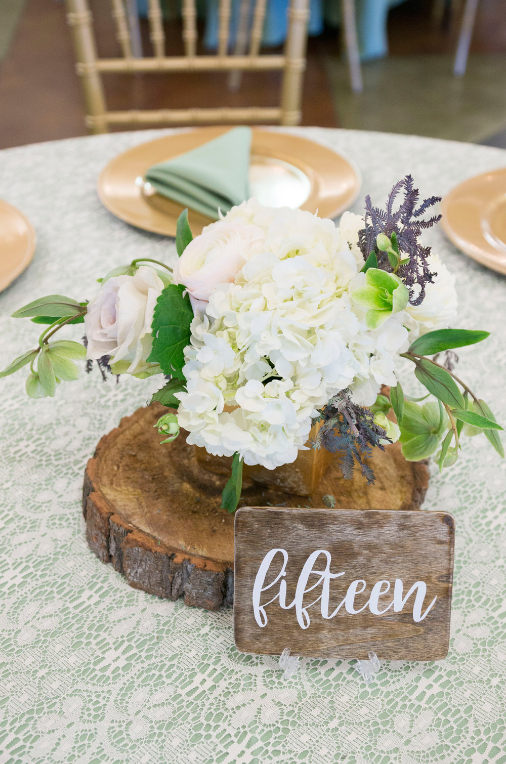 A Rustic-Vintage Glam McCoy Equestrian Center Wedding - Peterson Design & Photography