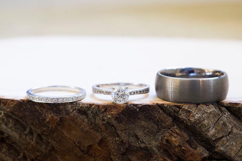 Unique Wedding Ring Shots - A Rustic-Vintage Glam McCoy Equestrian Center Wedding - Peterson Design & Photography