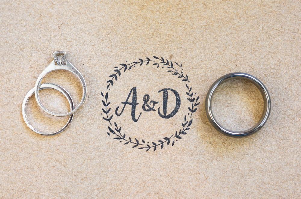 Unique Wedding Ring Photos - A Rustic-Vintage Glam McCoy Equestrian Center Wedding - Peterson Design & Photography