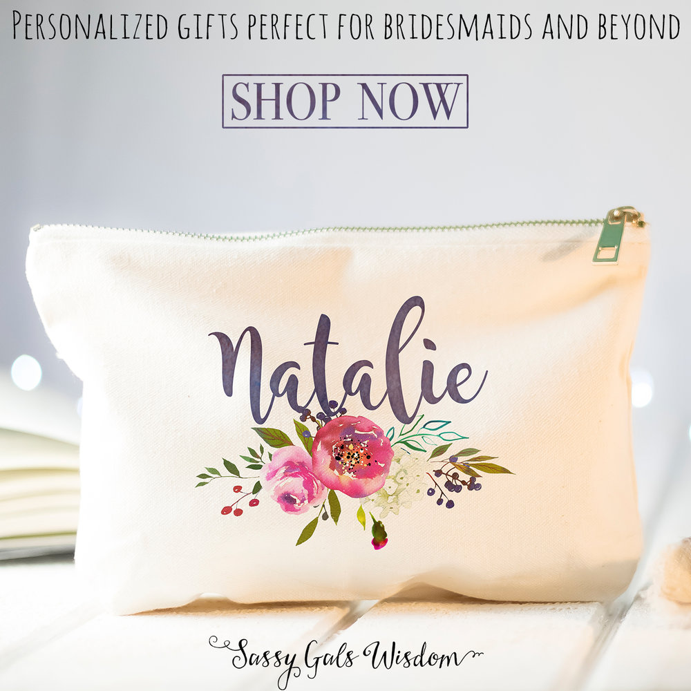 Sassy Gals Wisdom - Personazlied Boho Bride-Wedding Gifts