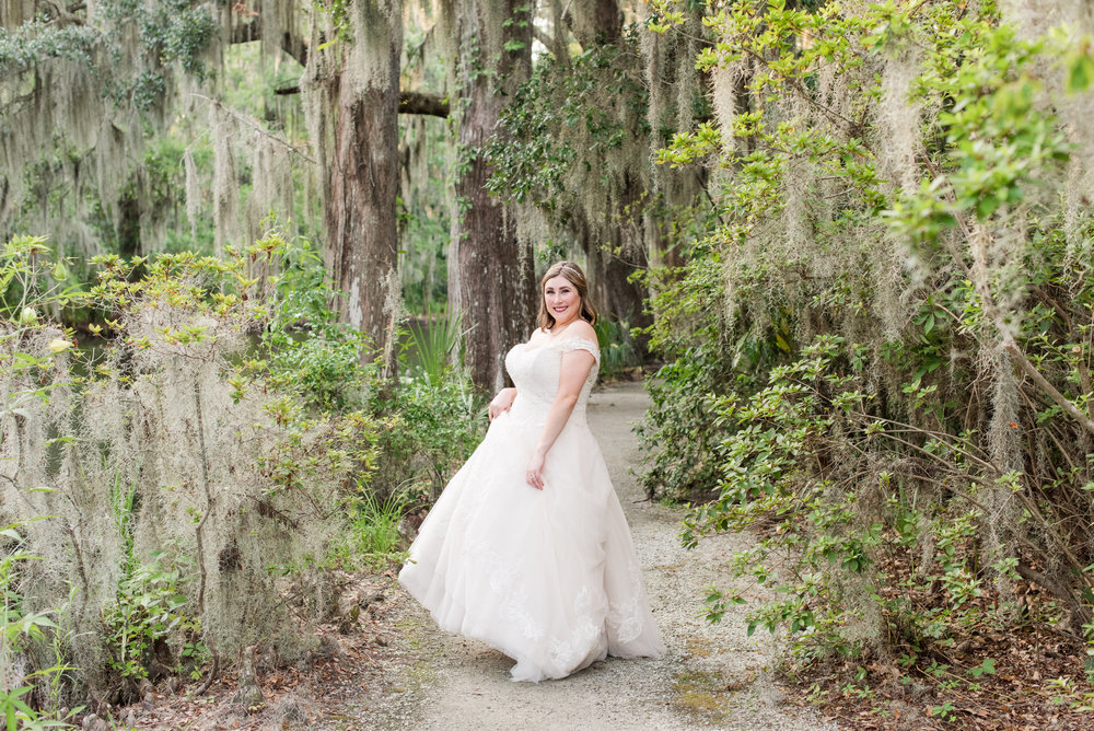 A Charleston Magnolia Plantation Peacock Wedding - Meredith Ryncarz Photography