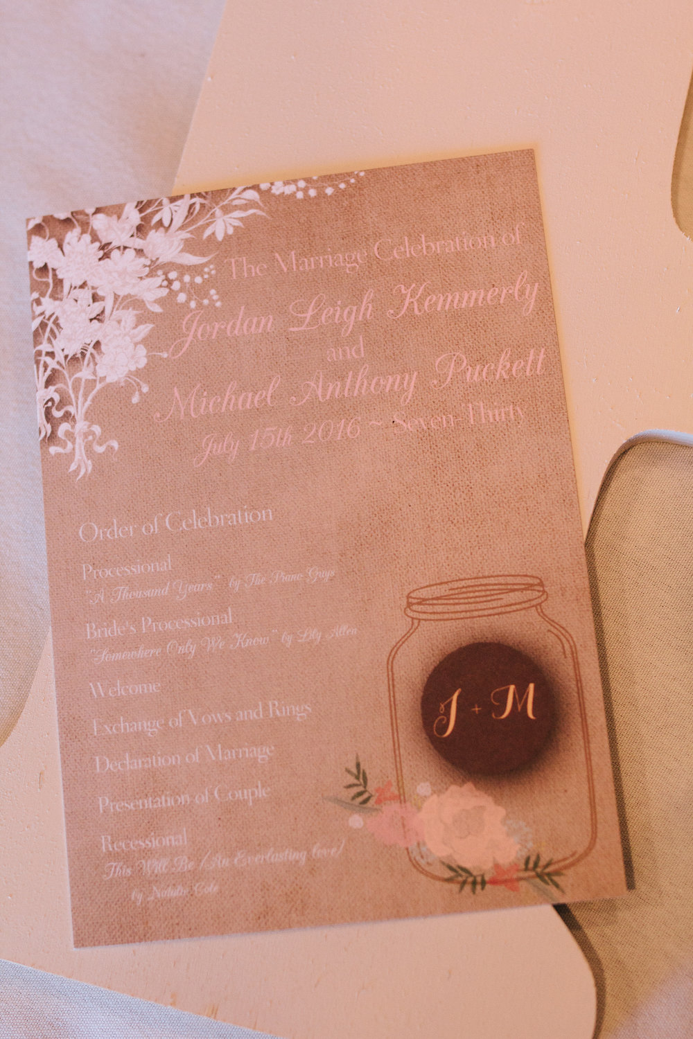 Rustic Wedding Invitations - A Champagne + Blush Oklahoma Wedding - Meditations Event Center - From Britt's Eye View Photography