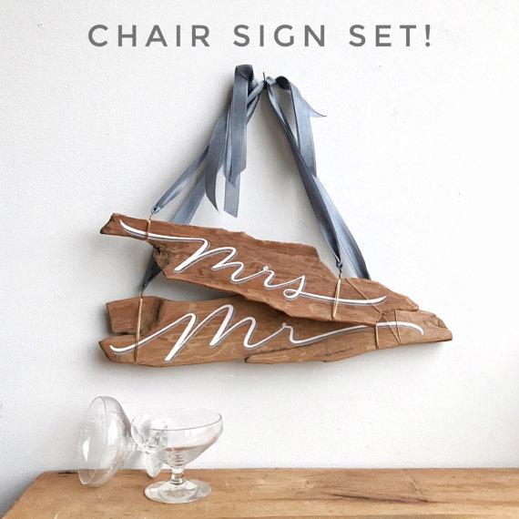 Unique Wooden Wedding Signs - Unique Wedding Ideas