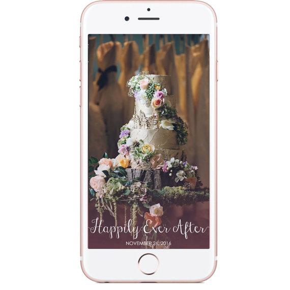 Custom Wedding Filters - Unique Wedding Ideas
