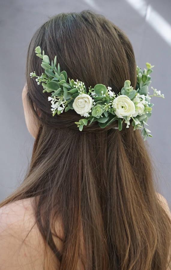 Fall Bridal Hair Accessories-Flower Crowns