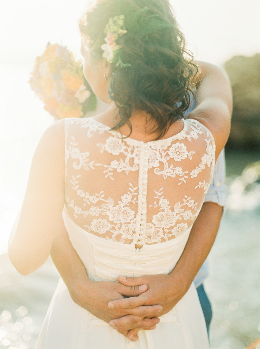 Salou, Spain Beach Wedding - Buenasphotos -- Wedding Blog - The Overwhelmed Bride