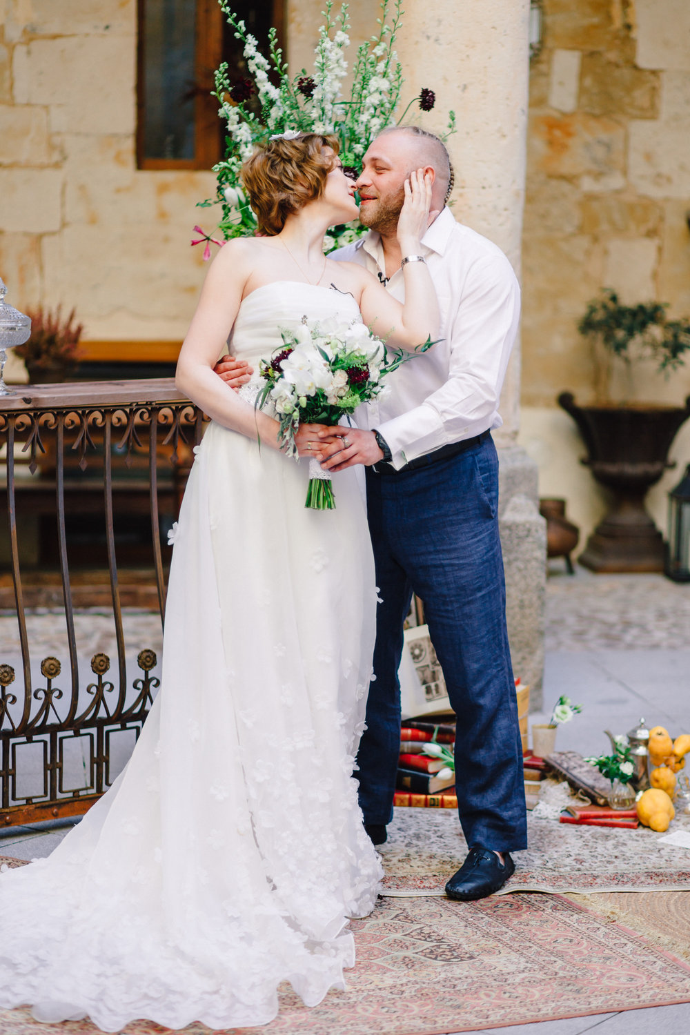 Spain Castle Wedding - A Castillo del Buen Amor Castle Wedding in Salamanca, Spain -- Wedding Blog-The Overwhelmed Bride