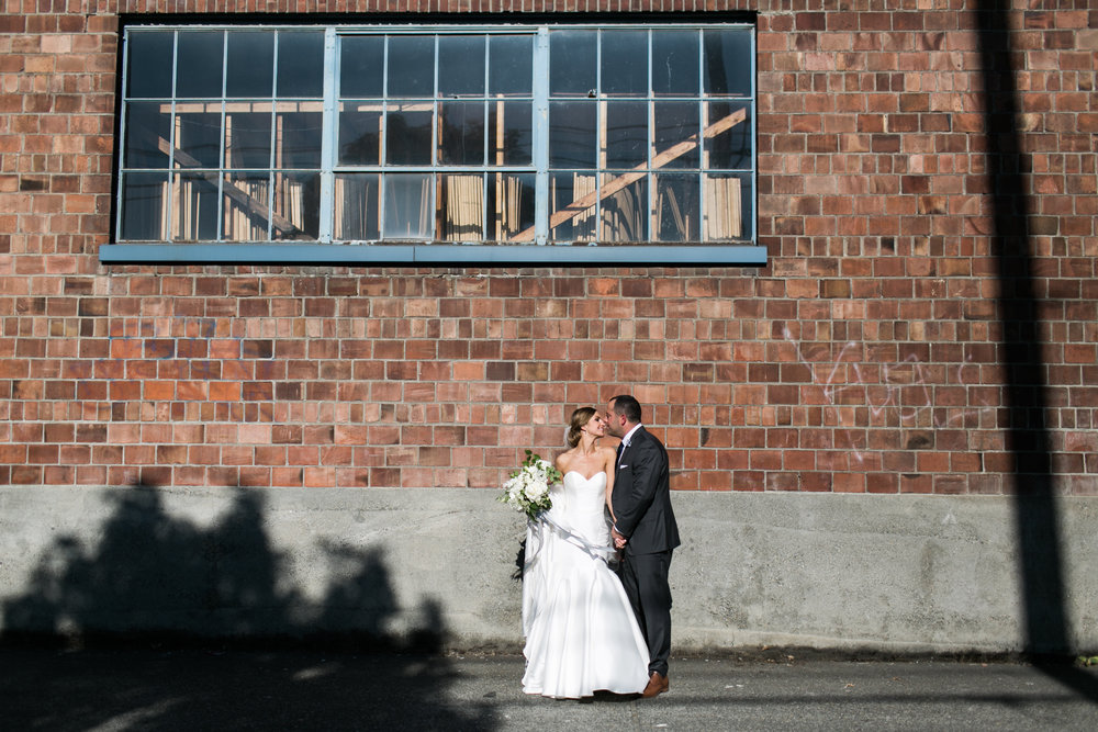 Urban Seattle Wedding - The Foundry Wedding -- Wedding Blog - The Overwhelmed Bride