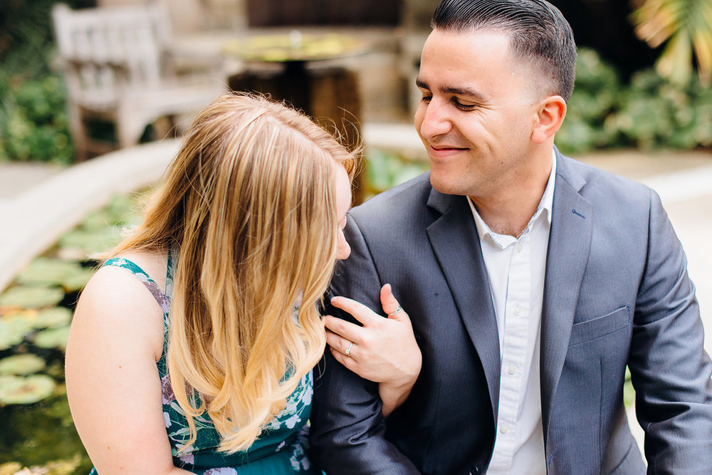 Los Angeles Aborteum Engagement Photos - XO and Fetti Photography -- Wedding Blog-The Overwhelmed Bride