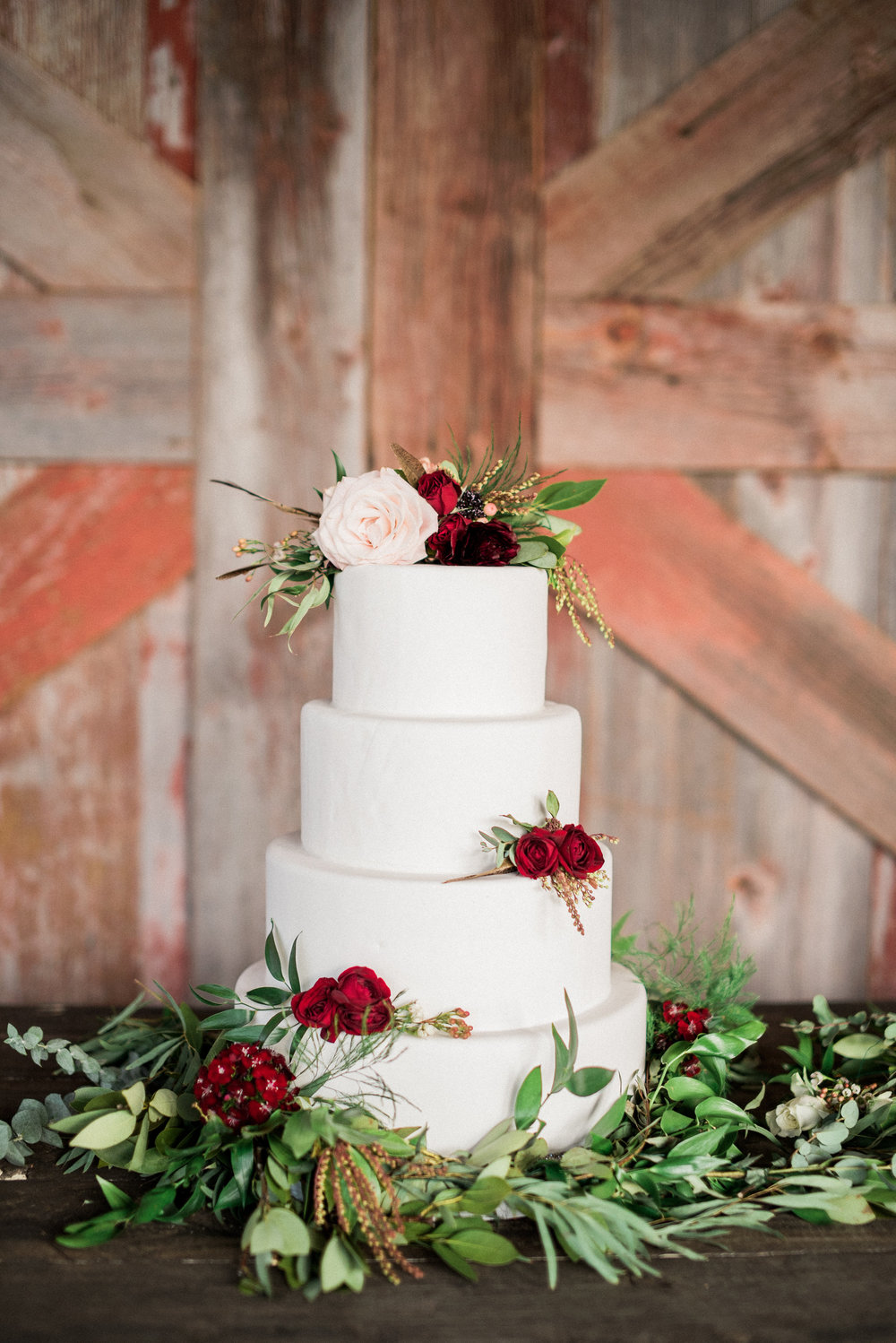 Rustic, Romantic Branded T Ranch Styled Wedding - Burgundy Wine Blush Wedding -- Brittany Jean Photography -- Wedding Blog - The Overwhelmed Bride