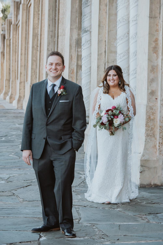 A Hollis Botanical Gardens Wedding — The Overwhelmed Bride ...