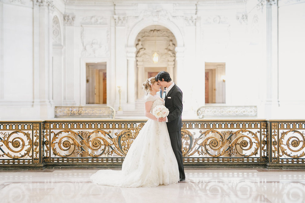 An Intimate San Francisco City Hall Wedding -- Kristen Booth Photography -- Wedding Blog - The Overwhelmed Bride