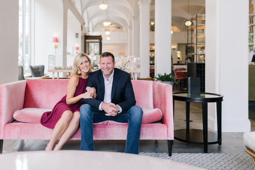 Quirk Hotel + Belle Island Engagement Photos - Luke and Ashley Photography - Richmond Virginia Wedding Photographer -- Wedding Blog - The Overwhelmed Bride