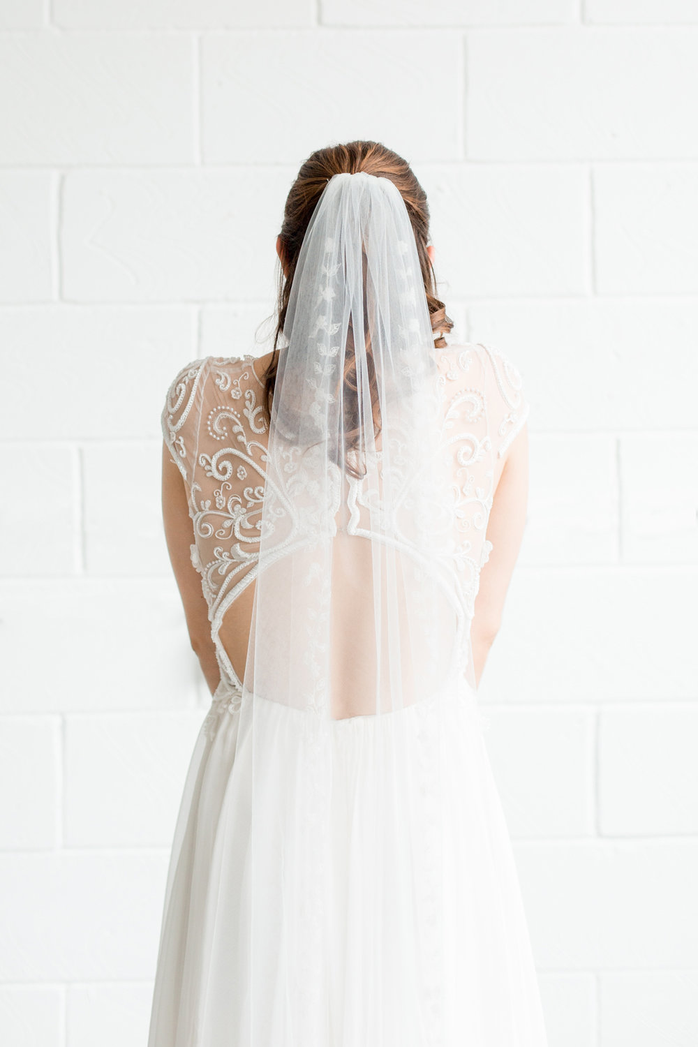 Boho Wedding Dress - Industrial Warehouse Wedding -- The Overwhelmed Bride - Wedding Blog