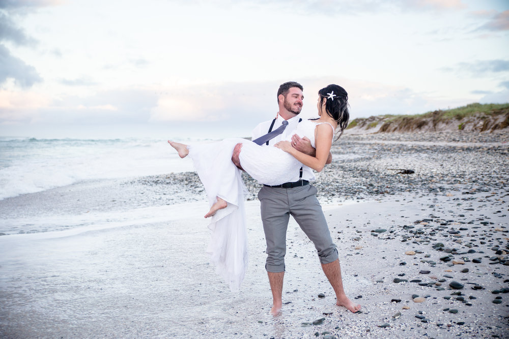 A Trash the Dress Beach Shoot - Samantha Jackson Photography -- Wedding Blog - The Overwhelmed Bride