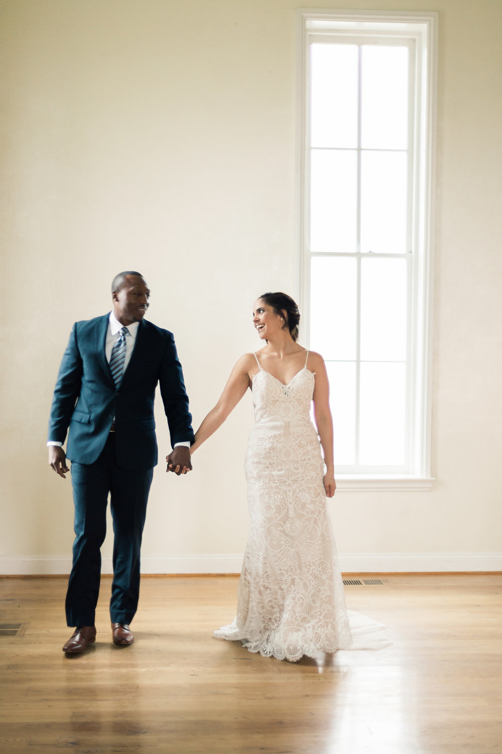 A Romantic Milton Ridge Historic Chapel Wedding - Maryland Wedding -- Wedding Blog - The Overwhelmed Bride