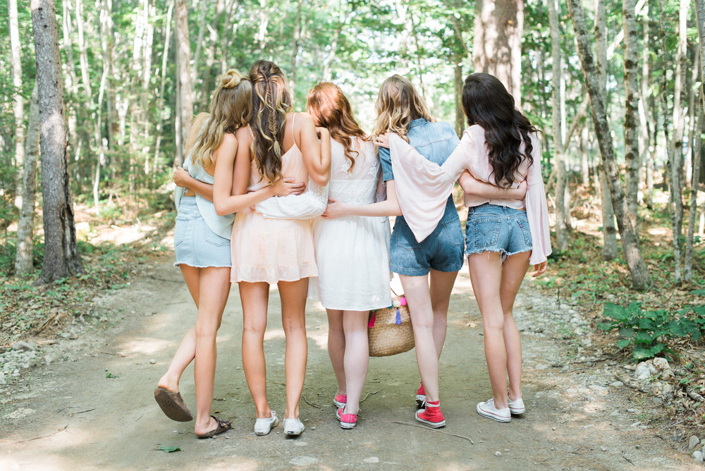 Unique Bachelorette Party Ideas - Glamping Bachelorette Party -- Wedding Inspiration - The Overwhelmed Bride