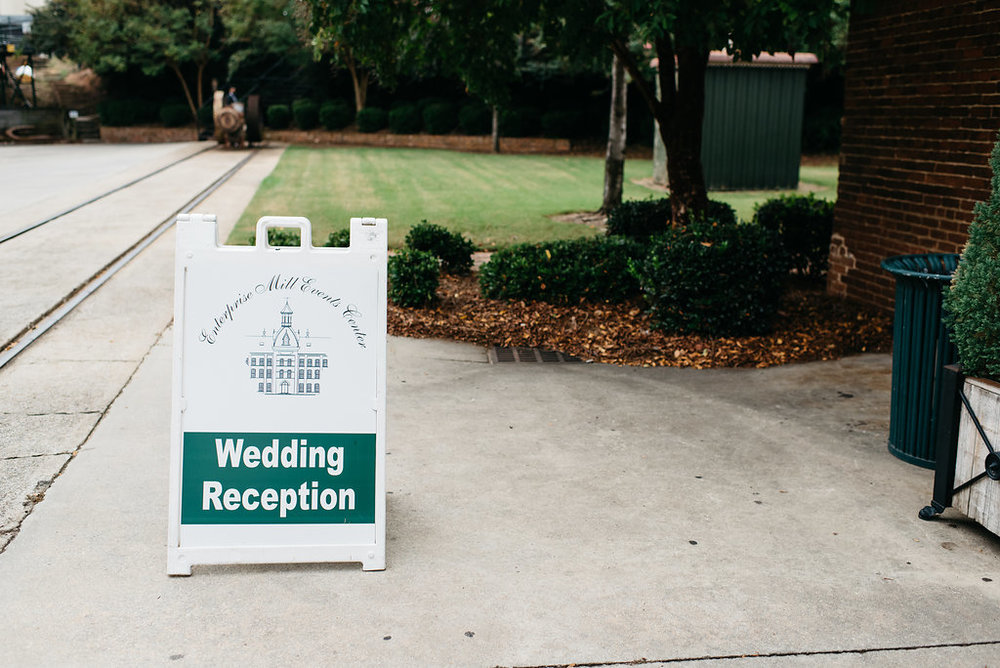 DIY Wedding - Augusta, Georgia Wedding -- Enterprise Mill Wedding