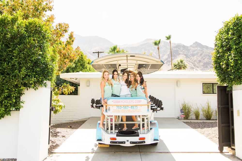 Palm Springs Bachelorette Party - Old Las Palmas Bachelorette Party - 60's Bachelorette Party