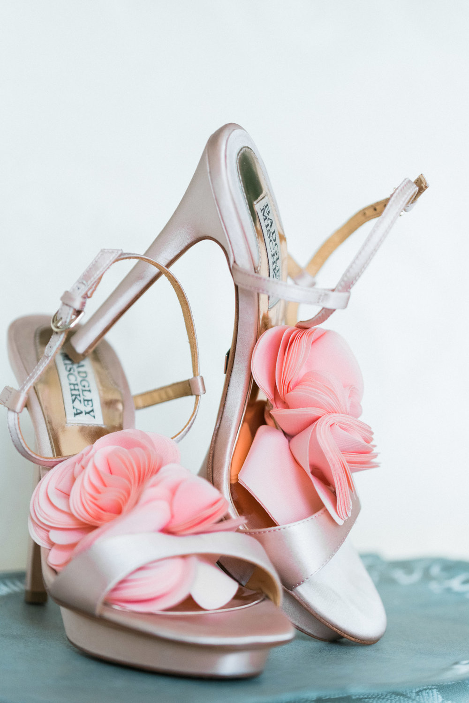 Champagne Bridal Heels