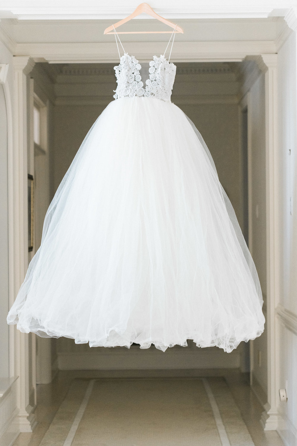 Low Back Wedding Dress - Pennsylvania Private Estate Wedding