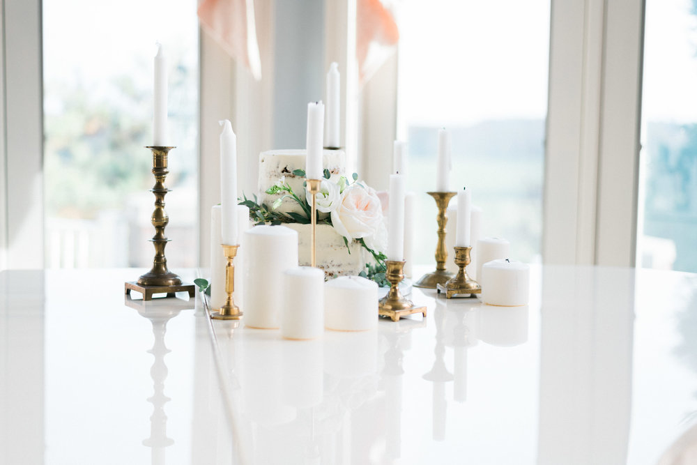 Wedding Elegant DIY Centerpieces - Pennsylvania Private Estate Wedding