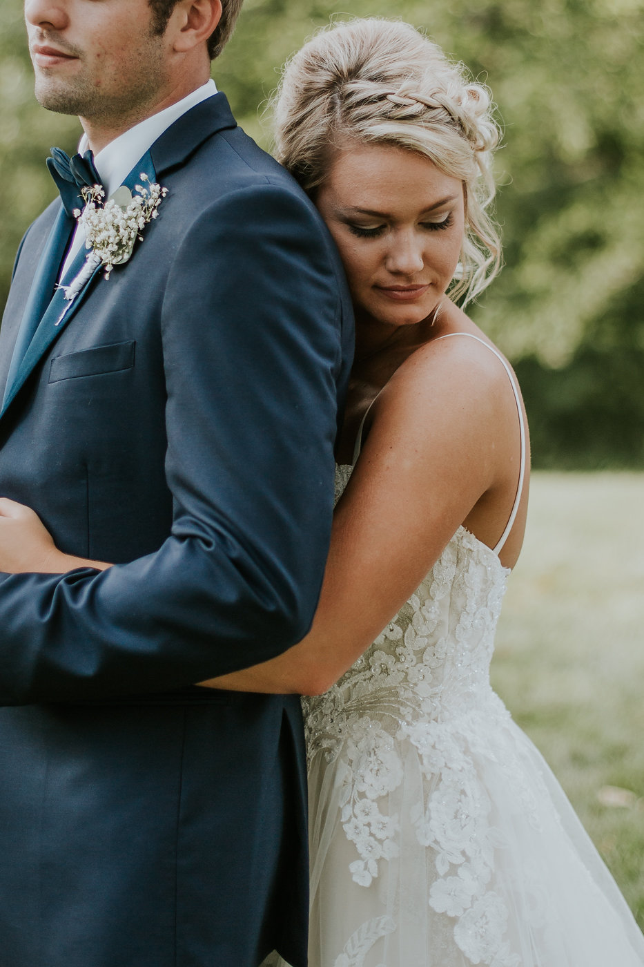 Gorgeous Bride and Groom Wedding Shots - North Carolina Wedding Venue - Triple J Manor House Wedding